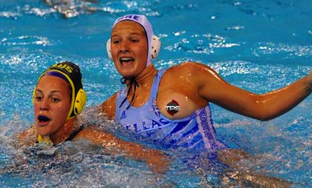 water polo nip slip