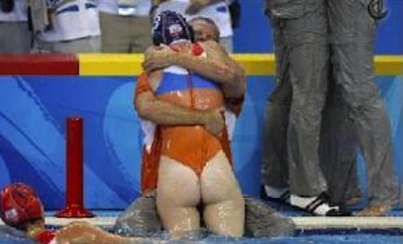 water polo wedgie