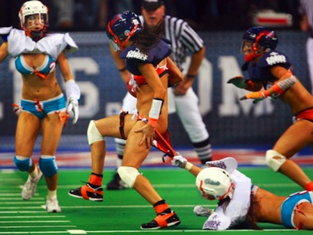 lingerie football league wardrobe malfunction
