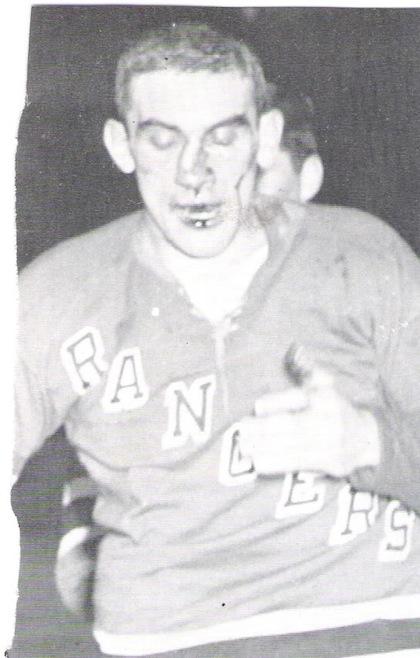 lou fontinato hockey face gordie howe