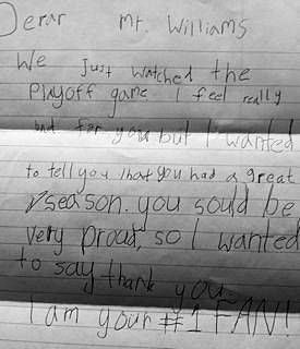7 year old letter to kyle williams