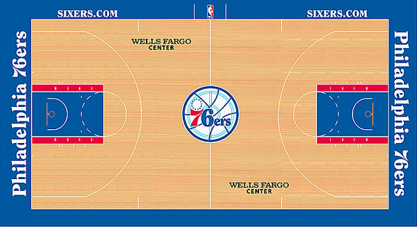 12 Best Nba Court Designs Of 2012