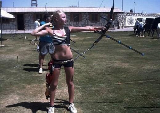 Archery woman nude jailbait