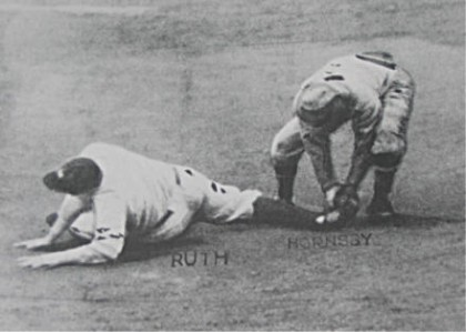 Ruth last out 1926 world series cardinals yankees