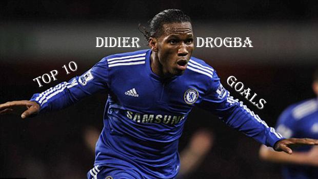 Top10BestDidierDrogbaGoals