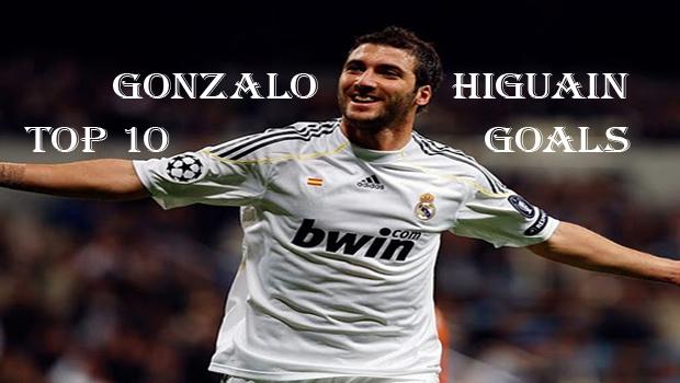 Top10BestGonzaloHiguainGoals