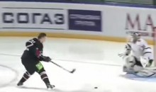 Vladimir Tarasenko Scores An Amazing Shootout Goal During The KHL Skills Competition (Video)