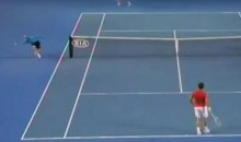 Ball Girl Makes An Incredible Catch At The Australian Open (Video)