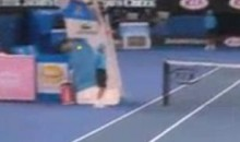 Ball Boy's Head Nearly Decapitated At Australian Open (Video)