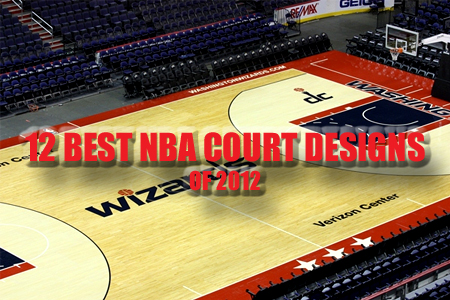 best NBA court designs 2012