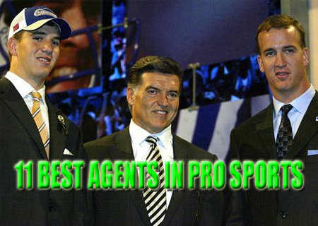best agents in pro sports