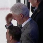 bill clinton salute
