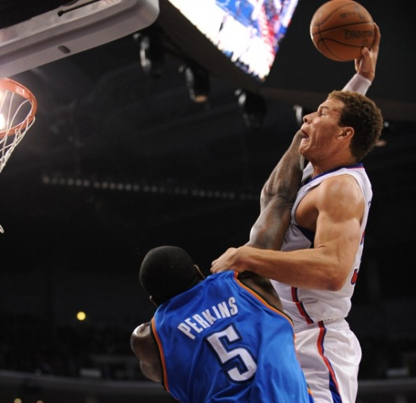 blake griffin posterize perkins