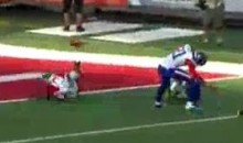 Brandon Marshall Used His Knee To Make This Amazing Catch At The Pro Bowl (Video)