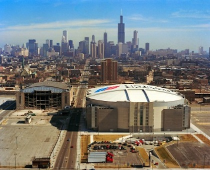 chicago stadium vs. united center