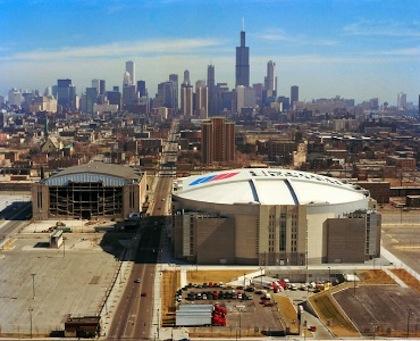 chicago stadium vs. united center
