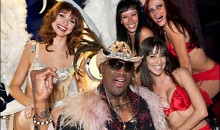 Now Dennis Rodman Is Coaching A Stripper Basketball Team!