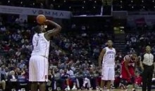 Bobcats' DeSagana Diop Gives Us The Worst Free-Throw Attempt Ever (Video)