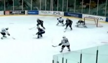 Western Michigan's Double One-Timer Had Everyone Fooled (Video)