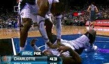 "Dwight Howard Resuscitates Glen ""Big Baby"" Davis (Video)"