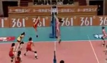 Chinese Women Bring Us This Epic Volleyball Rally (Video)