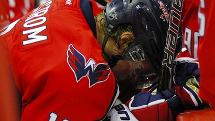 exhausted nhl player backstrom