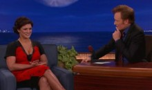 Gina Carano Tells Conan O'Brien Why Cagefighting Is Like Sex (Video)