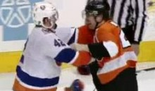 Frozen Fisticuffs Fight Of The Night — Giroux vs. Reese — 1/19/12