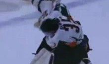Goalies Square Off During This Epic Hockey Brawl (Video)