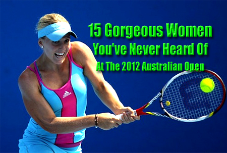 gorgeous women hot tennis players australian open 2012