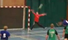 Check Out This Handball Head-Shot! (Video)