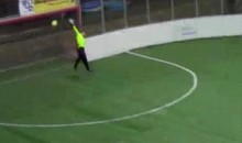 This Is What An Indoor Soccer Buzzer Beater Looks Like (Video)