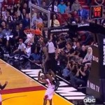 lebron james dunk over john lucas
