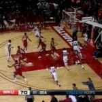 louisiana-lafayette six men on court