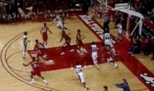Louisiana-Lafayette Basketball Team Wins Game In OT With Six Men On The Court (Video)