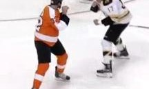 Frozen Fisticuffs Fight Of The Night — Two From The Bruins vs. Flyers — 1/22/12