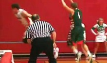 Basketball Player Drains Miracle Shot In His Own Basket (Video)