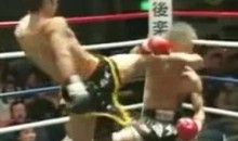 Muay Thai Fighter Gets Knocked Into Another World (Video)