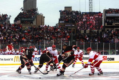 Winter Classic: Detroit Red Wings v Chicago Blackhawks