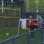 paul owens corner kick goal