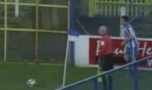 Watch A Soccer Player Score Directly From A Corner Kick…Twice! (Video)