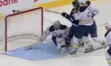 "Ryan Miller's Stick Makes ""Save Of The Year"" (Video)"