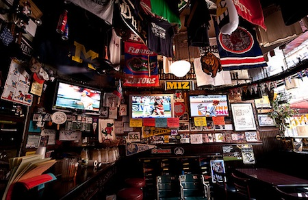 best sports bar standings bar