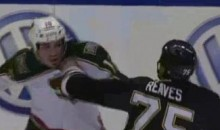 Frozen Fisticuffs Fight Of The Night — Staubitz vs. Reeves — 1/14/12