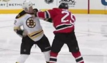 Frozen Fisticuffs Fight Of The Night — Thornton vs. Janssen — 1/4/12