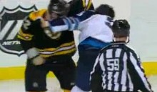 Frozen Fisticuffs Fight Of The Night — Thornton vs. Stuart — 1/10/12