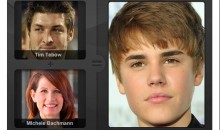 A Tim Tebow-Michele Bachmann Love Child Would Look Like Justin Bieber (Image)