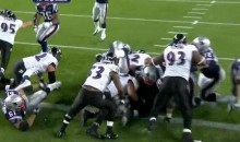 How Did Tom Brady Avoid Breaking His Back On This Touchdown? (Video)