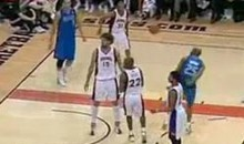 Here's Vince Carter's Behind-The-Back Shot That Didn't Count (Video)