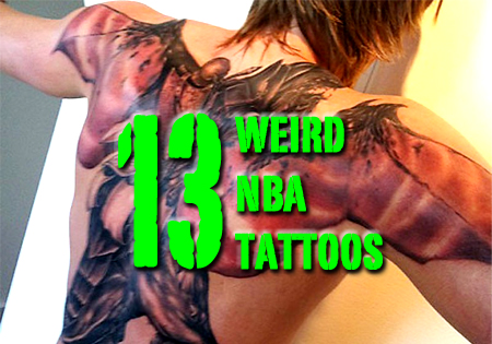 weird nba tattoos